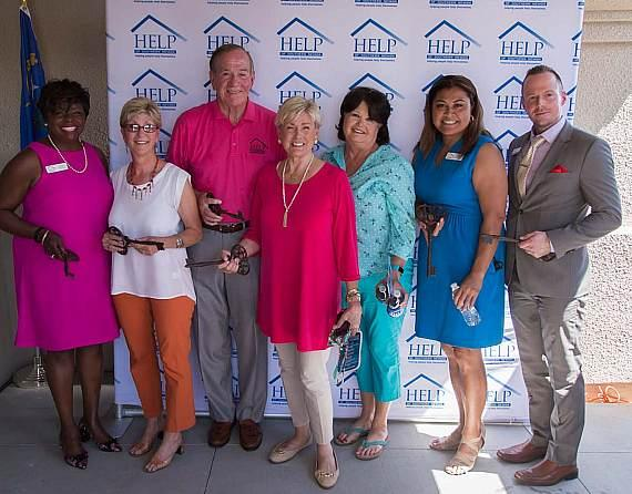 Grand Opening speakers ar Shannon West Homeless Youth Center