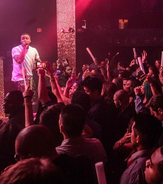 Sage the Gemini performs at  TAO's Worship Thursday