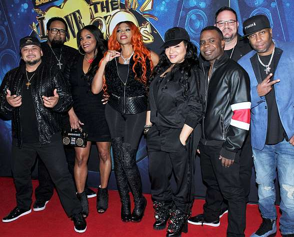 "Salt-N-Pepa's ""I Love the '90s – The Vegas Show"" Celebrates Red Carpet Premiere at Paris Las Vegas"