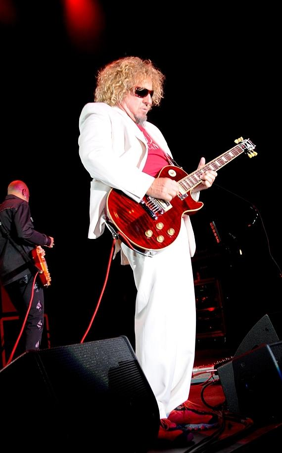 Sammy Hagar performs at Nevada Cancer Institute's Rock for the Cure Las Vegas