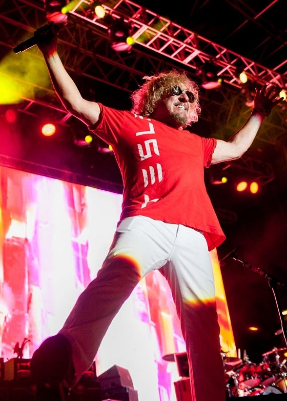 Sammy Hagar Hosts Belated Birthday Bash at The DLV in Las Vegas
