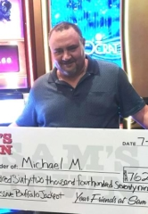 Las Vegas Local Hits $762,479.60 Buffalo Thundering 7's Jackpot at Sam's Town Hotel & Gambling Hall