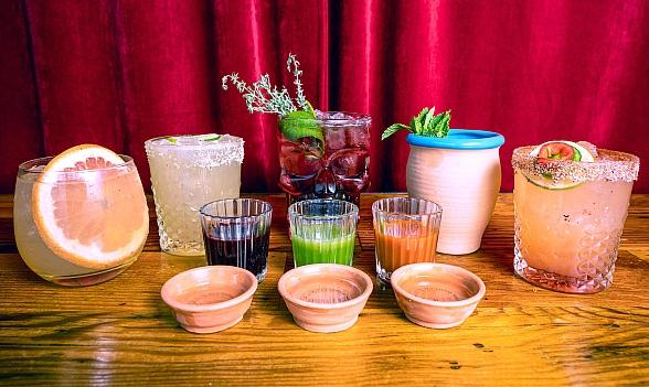 Santos Tacos Announces a New Mezcal Bar and Cocktail Menu