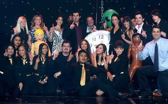 Comedy Hypnotist Marc Savard and crew celebrate 1,000 shows