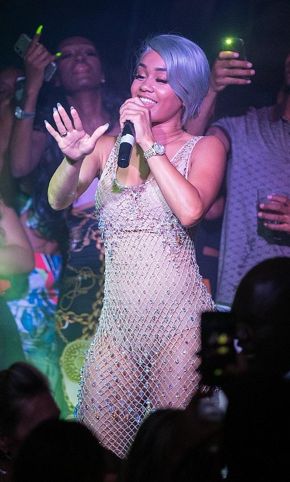 Saweetie performs top hits at Hyde Bellagio during Industry Tuesdays