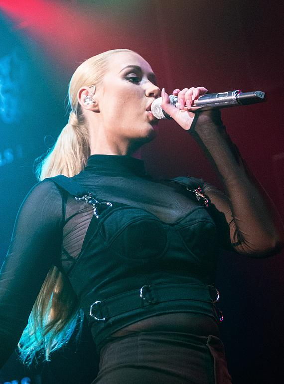 Iggy Azalea Performs Private Concert at the Sayers Club at SLS Las Vegas