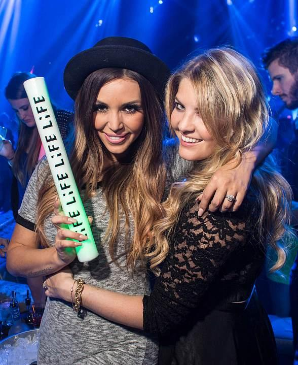 Vanderpump Rules' Scheana Shay, Pandora Vanderpump and Mike Shay Spotted at LiFE Nightclub at SLS Las Vegas