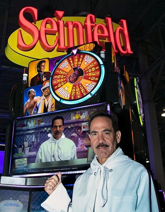 Scientific Games Seinfeld featuring the Soup Nazi Larry
