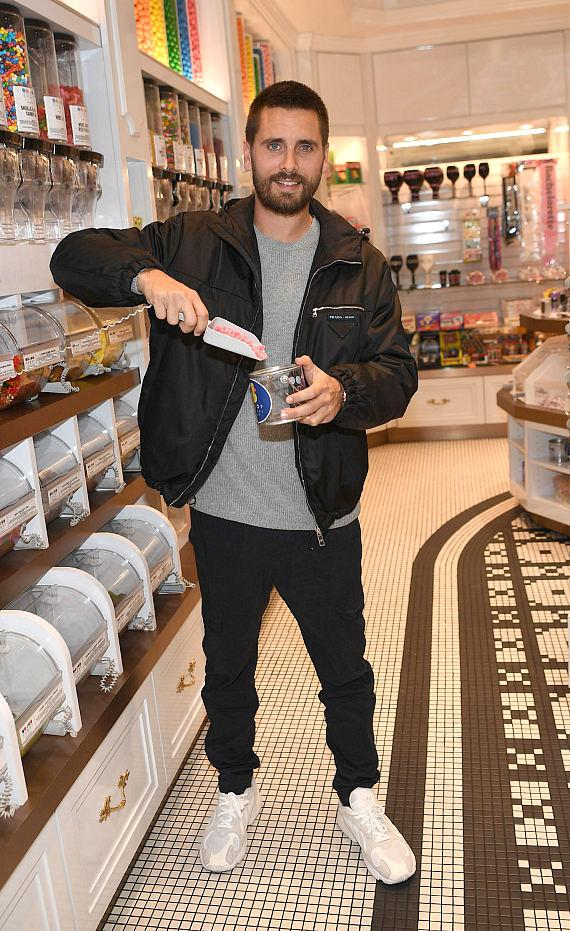 Scott Disick grabs his favorite treats from the candy store