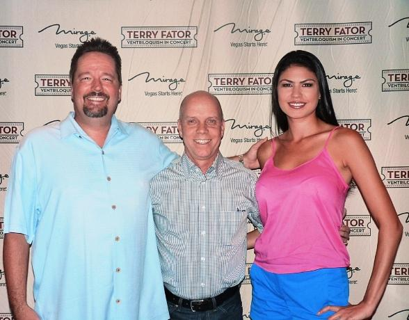 Terry Fator, Olympic Figure Skater Scott Hamilton and Taylor Makakoa