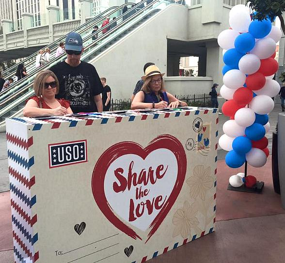Grand Bazaar Shops Partners with USO Las Vegas to Support U.S. Military Troops and Celebrate Fourth of July Weekend