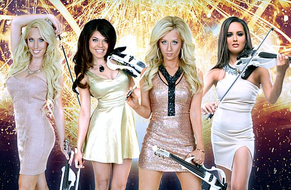 Tonight the Bella Strings Electric Pop Violin Band Returns