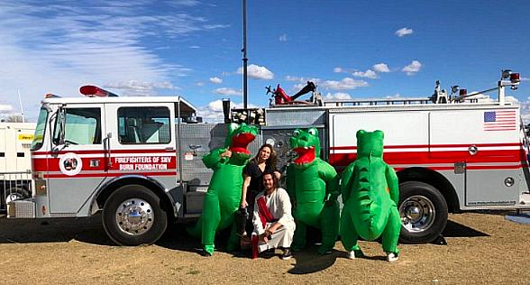 Firefighters of Southern Nevada Burn Foundation Raise More Than $7000 at USA Sevens Rugby Tournament