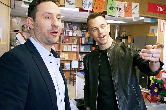 """Rick Lax and Justin Flom on premiere episode of """"Making Magic"""""""