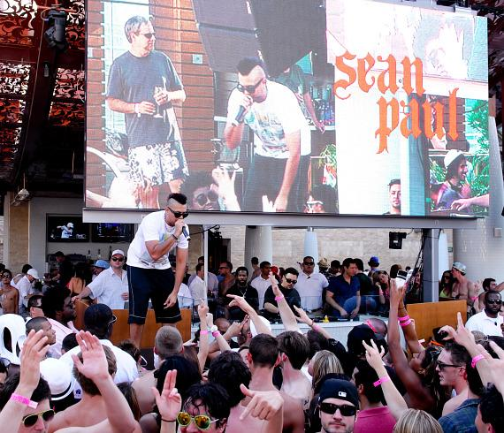 Sean Paul at Marquee Dayclub