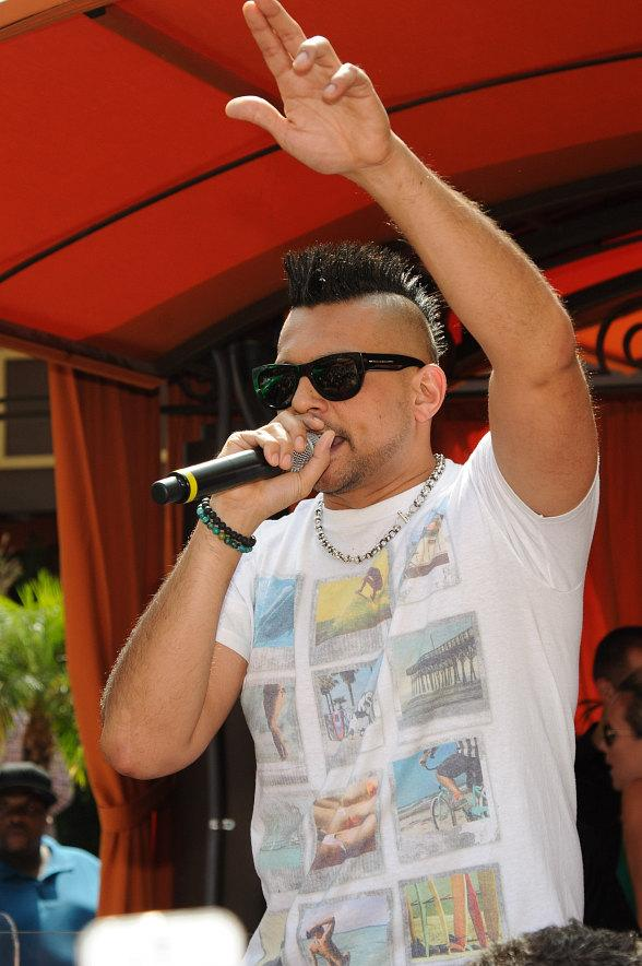 Sean Paul performs at TAO Beach