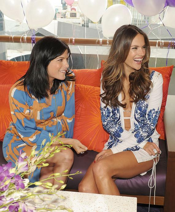 Selma Blair and Alessandra Ambrosio at Marquee Dayclub