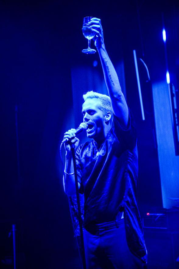 Semi Precious Weapons' lead singer Justin Tranter