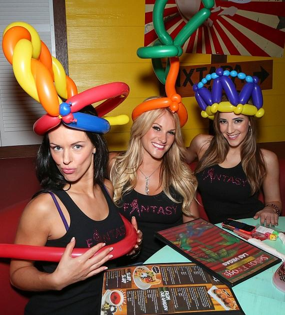 The Sexy Ladies of FANTASY Join the Party at Señor Frog's Las Vegas