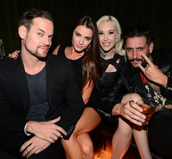 Actors Chris Paul, Shane West and more at SLS Las Vegas