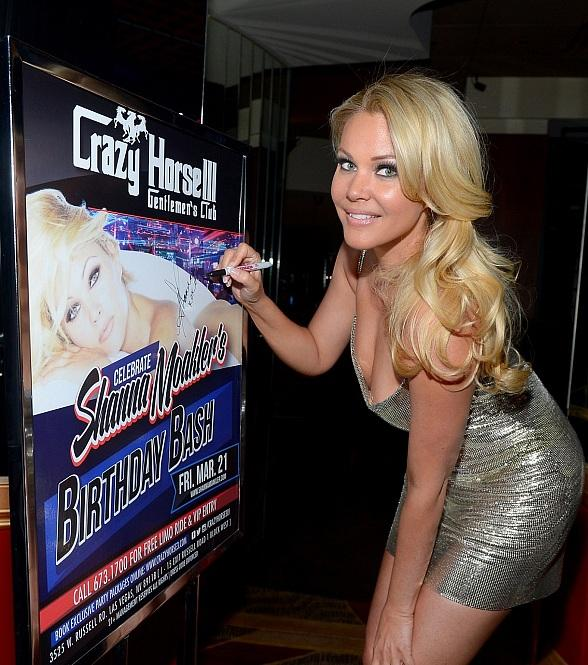 Shanna Moakler Celebrates Birthday Bash at  Crazy Horse III