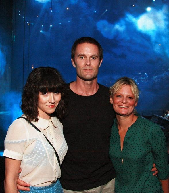 Raising Hope Stars Martha Plimpton, Shannon Woodward, Garret Dillahunt at The Beatles LOVE