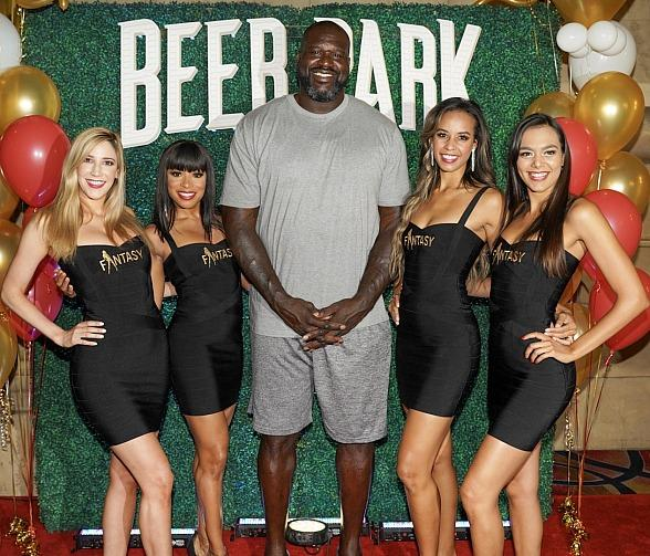 Shaquille O'Neal Hosts BEER PARK's Expansion Grand Opening in Las Vegas