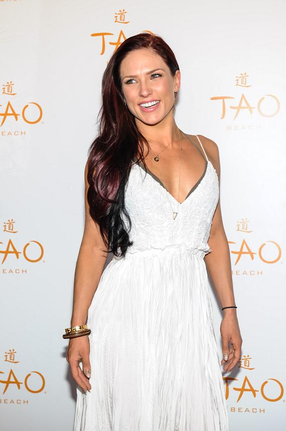Sharna Burgess at TAO Beach Red Carpet