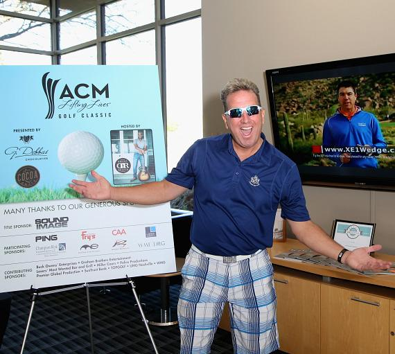Shawn Parr at ACM Lifting Lives Golf Classic