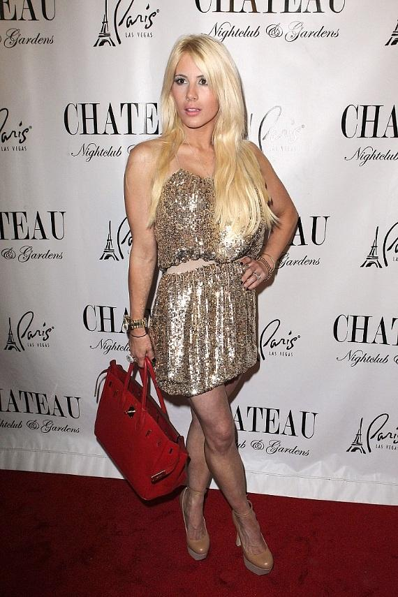 Shayne Lamas on the red carpet at Chateau Nightclub & Gardens