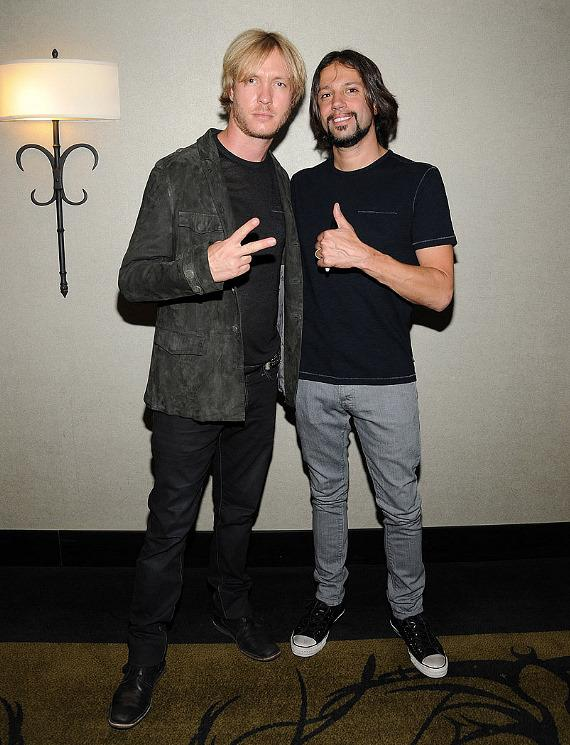 Kenny Wayne Sheperd and Noah Hunt at Hard Rock Hotel in Las Vegas