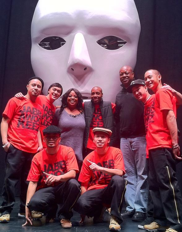 "The View Co-Host, Sherri Shepherd, Attends JabbaWockeeZ ""MUS.I.C."" at Monte Carlo Resort and Casino"