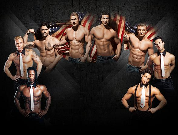 """Men Of The Strip"" Takes Downtown Las Vegas by Storm with Four Steamy Nights at The D this Labor Day Weekend"