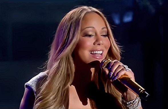 Mariah Carey premieres new
