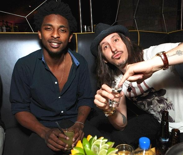 Shwayze and Cisco Adler at Moon Nightclub