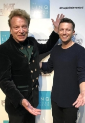 "Siegfried Fischbacher Attends ""Mat Franco – Magic Reinvented Nightly"" at The LINQ Hotel & Casino in Las Vegas"