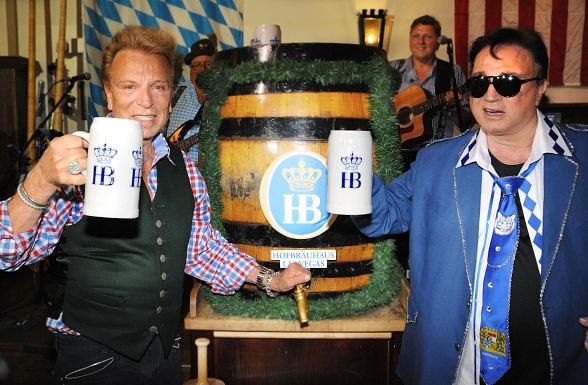 Siegfried & Roy Kick Off Oktoberfest at Hofbräuhaus Las Vegas