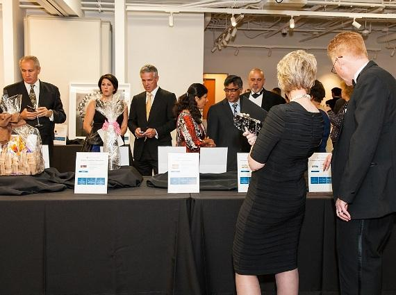 Silent Auction at Ten for Touro Gala