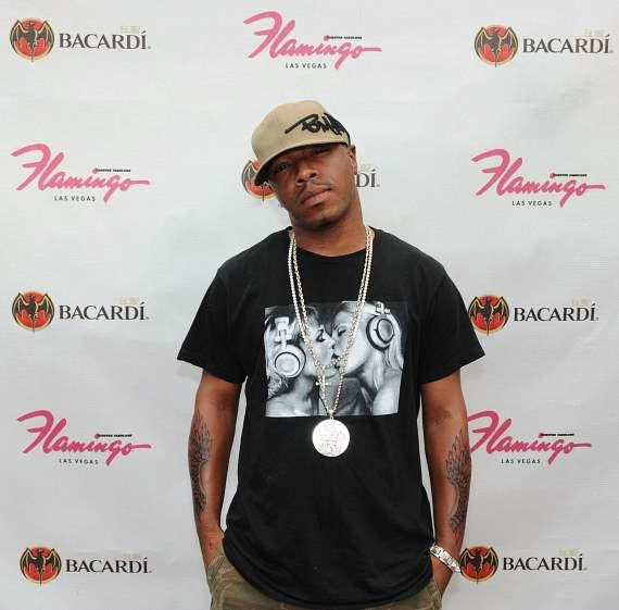 SisQó poses at the Flamingo GO Pool
