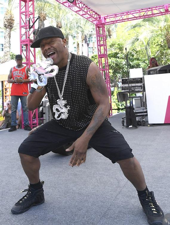 Sisqo performs at Flamingo Las Vegas' Go Pool Dayclub on Independence Day Weekend