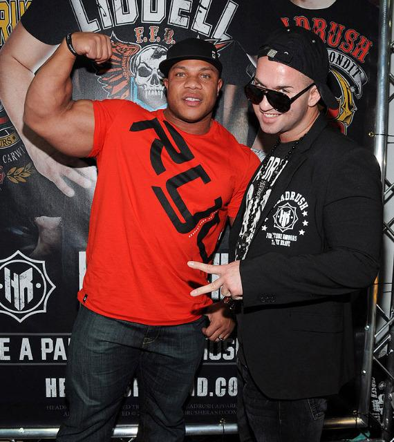 Mr. Olympia Phil Heath and Mike 'The Situation' Sorrentino