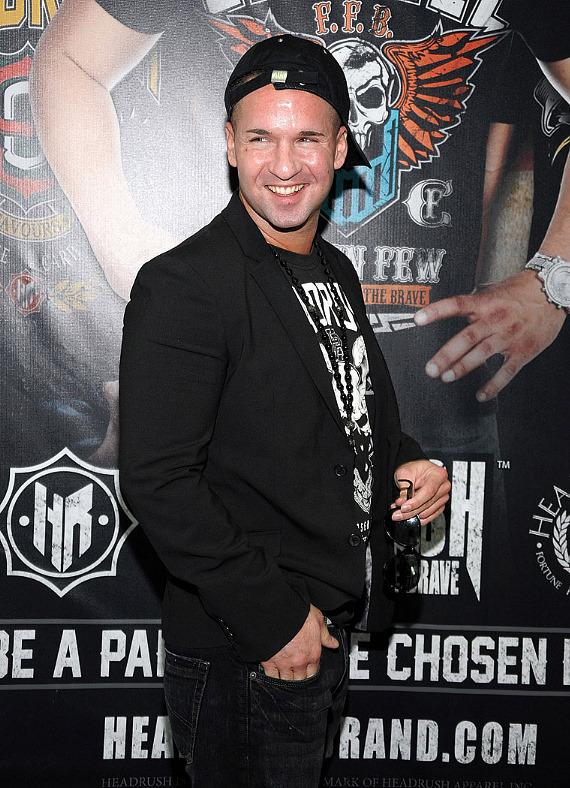 Jersey Shore's Mike 'The Situation' Sorrentino at Headrush Booth at MAGIC