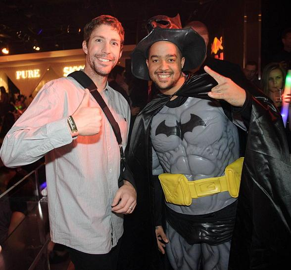 Travis Pastrana and Sky Blu at PURE Nightclub