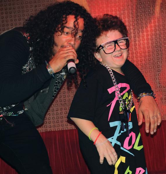 Skyblu and Keenan Cahill at TAO