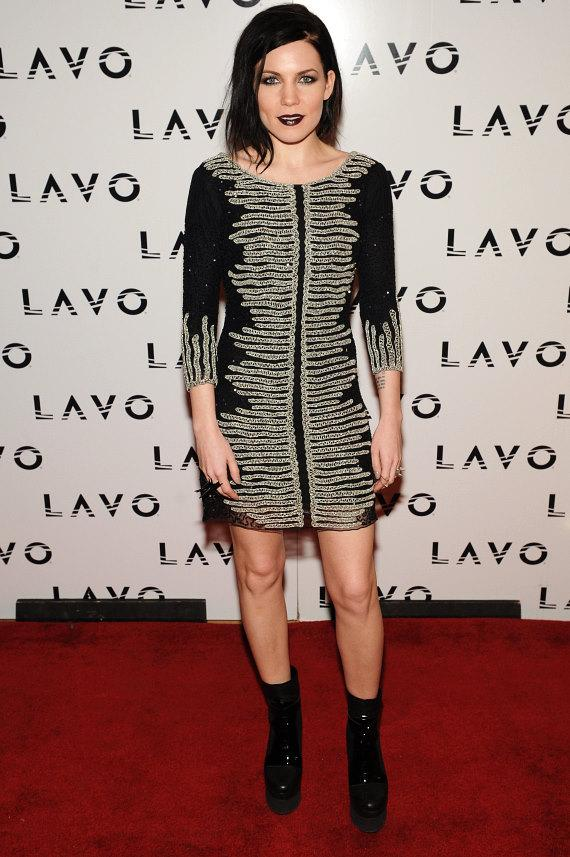 Skylar Grey on red carpet at LAVO