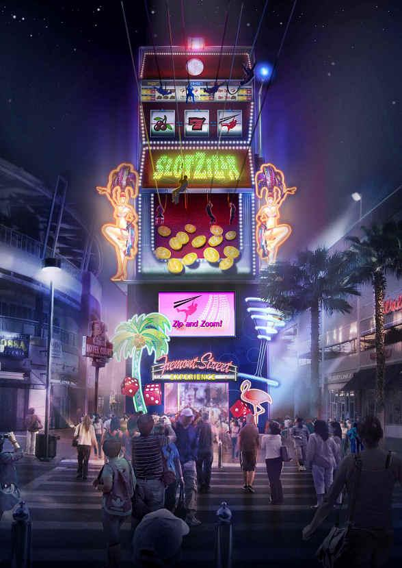 Fremont Street Experience Reveals Plans For Slotzilla A