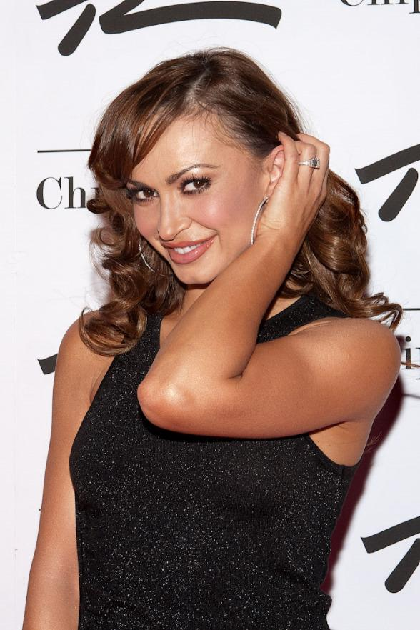 Karina Smirnoff at Chippendales