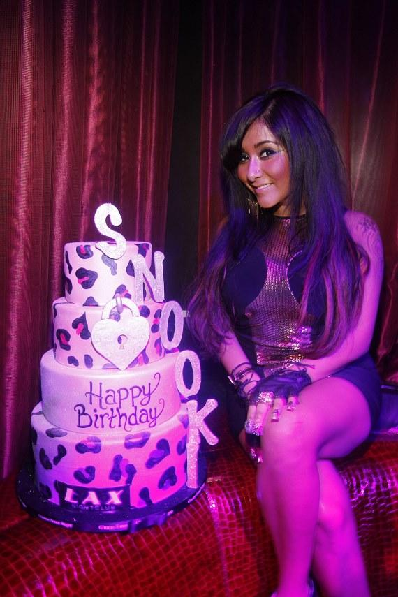 Nicole Snooki Polizzi Celebrates 24th Birthday At Lax