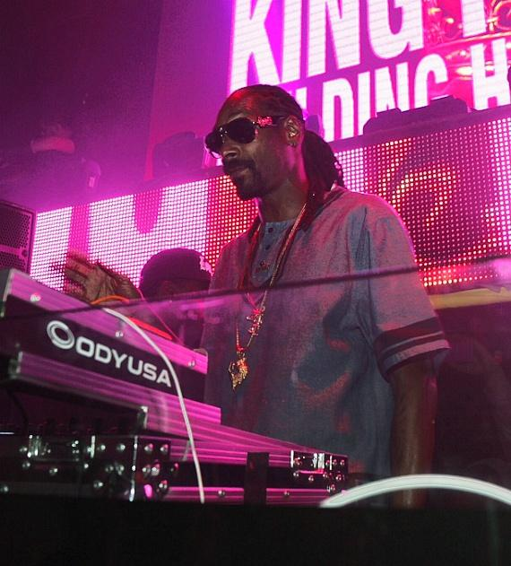 Snoop Dogg at TAO
