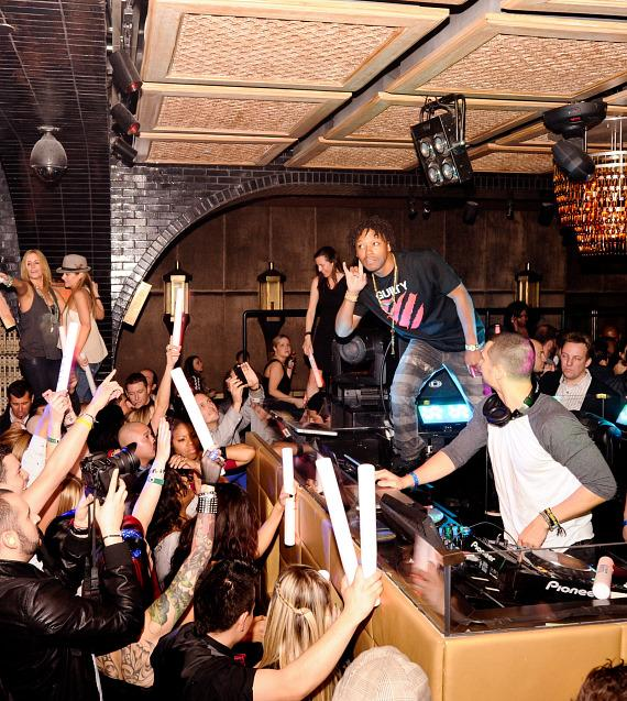 Soundclash: Lupe Fiasco and Sky Gellatly at LAVO
